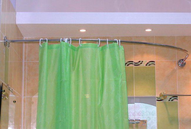 Карниз для шторы в ванную леруа мерлен